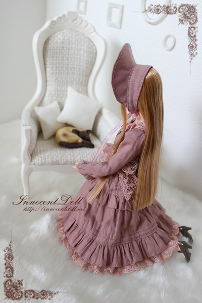 "1/6 scale doll dress""Classical Lolita(Old Rose)""_画像3"