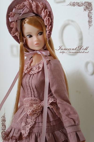 "1/6 scale doll dress""Classical Lolita(Old Rose)""_画像2"