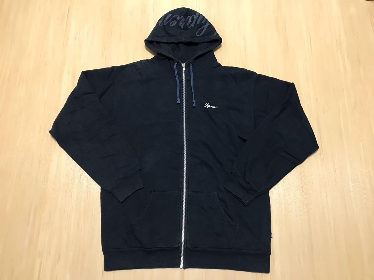 Supreme Script Hooded SweatShirt スクリプト スウェット パーカー North Nike Box 窪塚