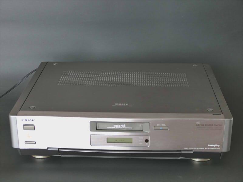 SONY EV-NS9000 Hi8 ジャンク 説明書、リモコン付き