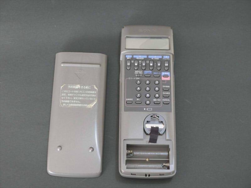 SONY EV-NS9000 Hi8 ジャンク 説明書、リモコン付き_画像5