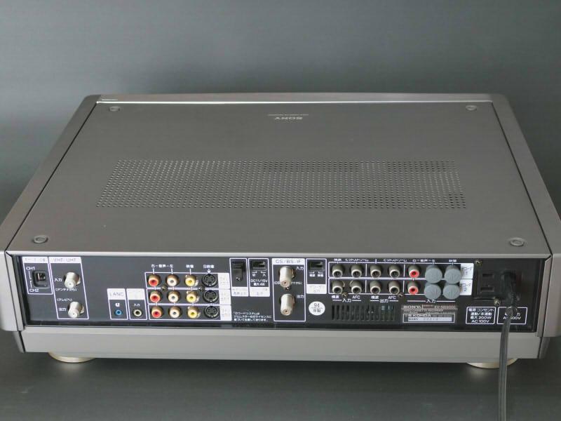 SONY EV-NS9000 Hi8 ジャンク 説明書、リモコン付き_画像3