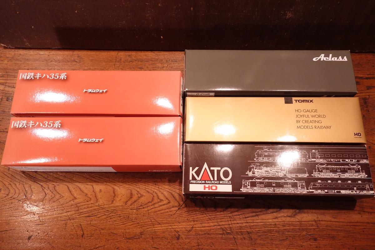 天賞堂 KATO KTM エンドウ他 / HOゲージ 車両 空箱 色々まとめて 大量31点set_画像7