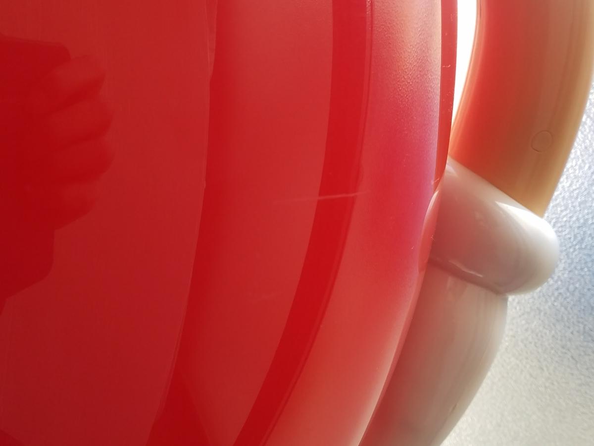 【引き取り限定】M&M's エムアンドエムズ 店頭ディスプレイ レッド 赤 販促品 アメリカン雑貨 インテリア 約100㎝ BIGサイズ キャラクター_画像9