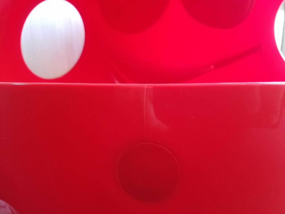 【引き取り限定】M&M's エムアンドエムズ 店頭ディスプレイ レッド 赤 販促品 アメリカン雑貨 インテリア 約100㎝ BIGサイズ キャラクター_画像4