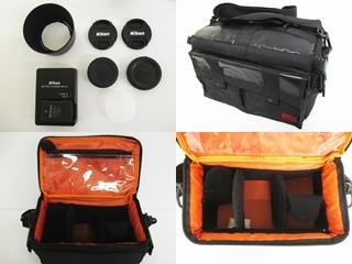h032▼80▼NIKON ニコン D3100 カメラ/AF-S DX NIKKOR 18-55mm 1:3.5-5.6G/50-200mm 1:4-5.6G ED レンズ 他 セット_画像9