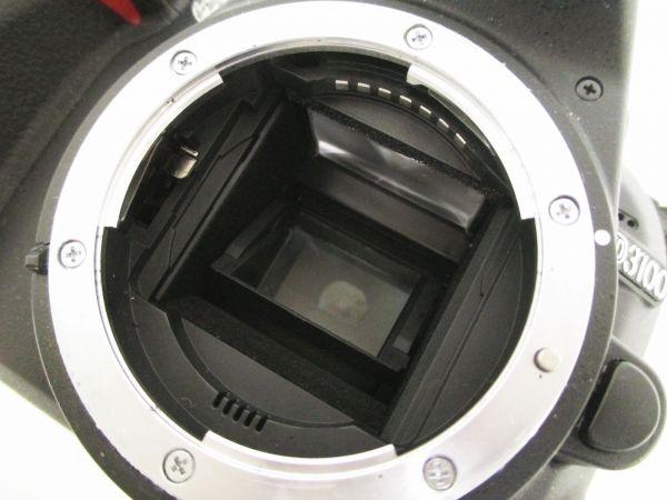 h032▼80▼NIKON ニコン D3100 カメラ/AF-S DX NIKKOR 18-55mm 1:3.5-5.6G/50-200mm 1:4-5.6G ED レンズ 他 セット_画像3
