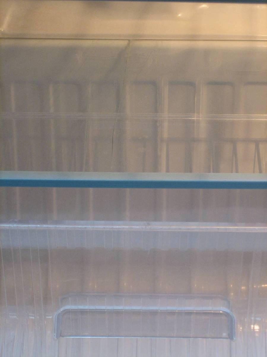 最近見かけない希少色!超希少☆ 松下電器産業 National ナショナル電気冷蔵庫 NR-M8A-GP ☆1988年1-6月製 29年使っても壊れない冷凍冷蔵庫!_ガラス棚の割れ