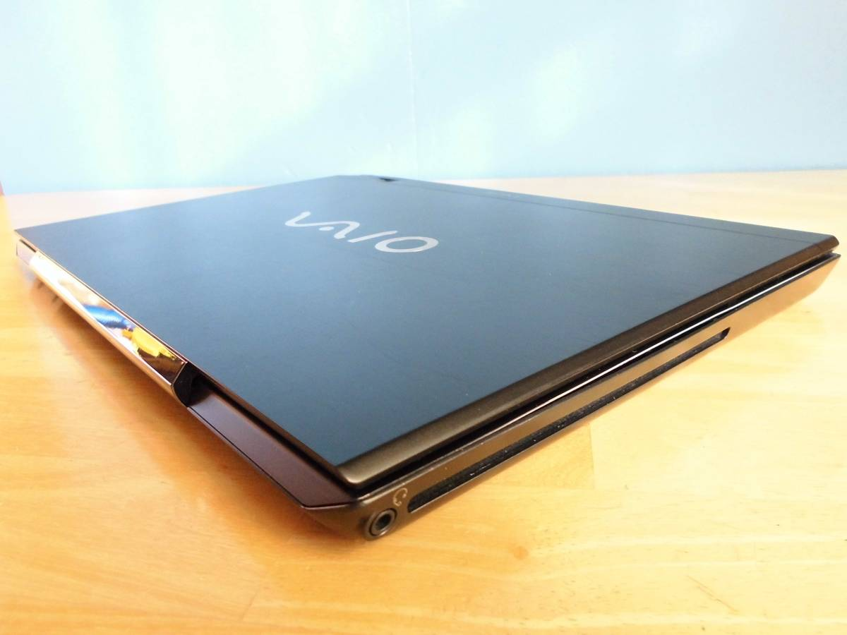 VAIO SVS13A1AJ Core i5-3320M 2.60GHz~3.30GHz/WXGA++ 1600×900/RAM 4GB/HDD 無し/Win10確認 部品取り完全ジャンク_画像4