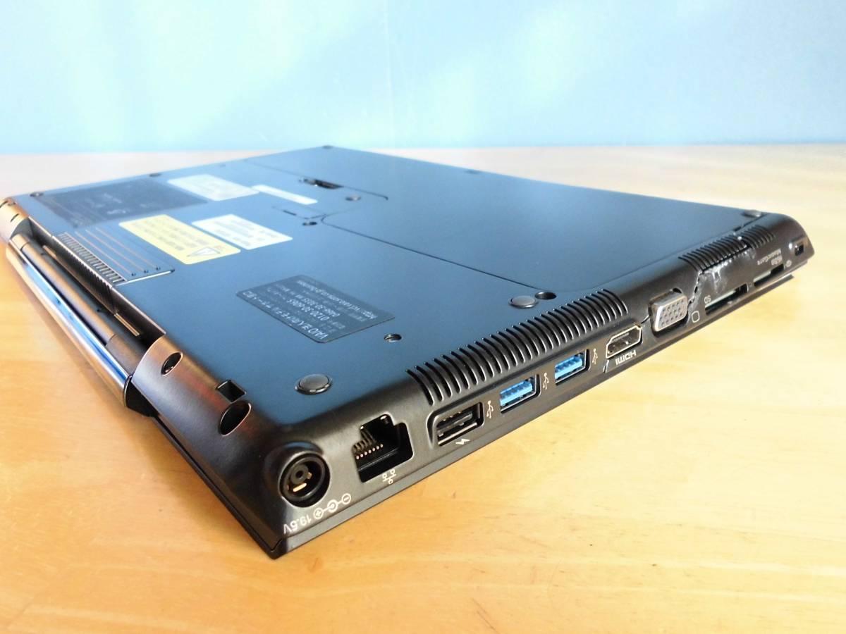 VAIO SVS13A1AJ Core i5-3320M 2.60GHz~3.30GHz/WXGA++ 1600×900/RAM 4GB/HDD 無し/Win10確認 部品取り完全ジャンク_画像6