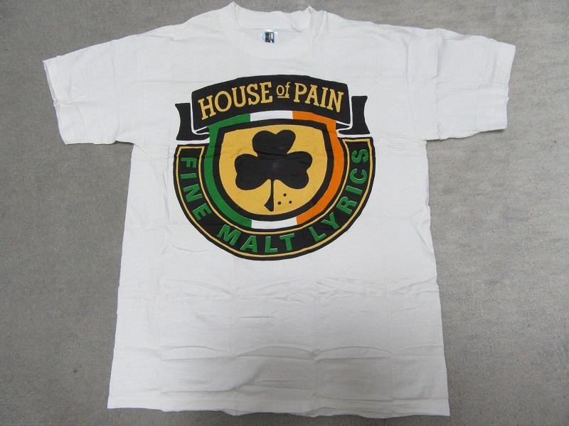 デッド 90s HOUSE OF PAIN JUMP AROUND プロモTシャツ (CYPRESS HILL BEASTIE BOYS PUBLIC ENEMY RAP TEES VINTAGE KANYE