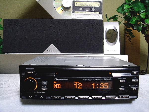 ◆◇ Nakamichi ♪高音質 MD-45z MD Player♪ Receiver 希少◇◆_画像1