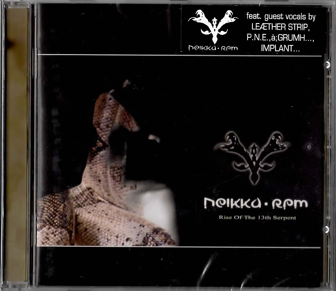 ★Neikka・RPM「Rise of the 13th Serpent」輸入盤CD(2006年)未開封★_画像1