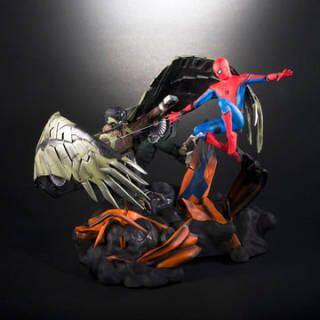 スパイダーマン:ホームカミング プレミアムBOX 限定コレクタブル・フィギュア スパイダーマン vs バルチャー_画像1