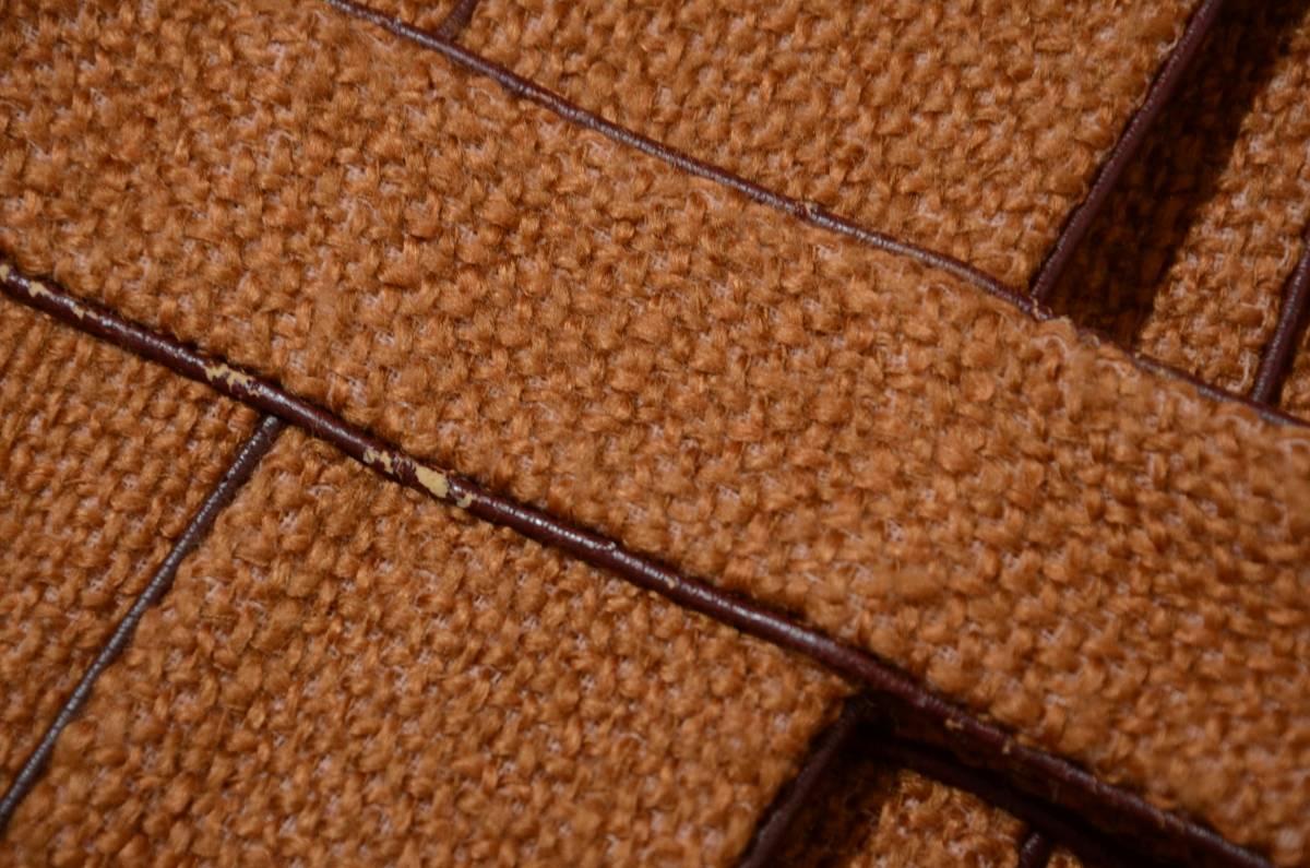 ミナペルホネン wafers パイピングデザイン モヘヤ混 ツイードロングコート 2点以上ご落札で送料無料!_画像9