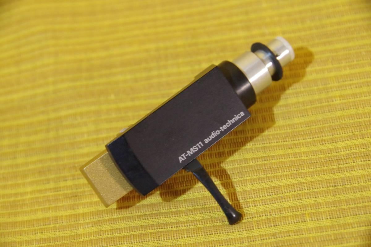 オーディオテクニカ AT-MS11 シェル DENONのDP-2500から取り外したジャンクパーツ ゆうパックで同梱・お取置きも
