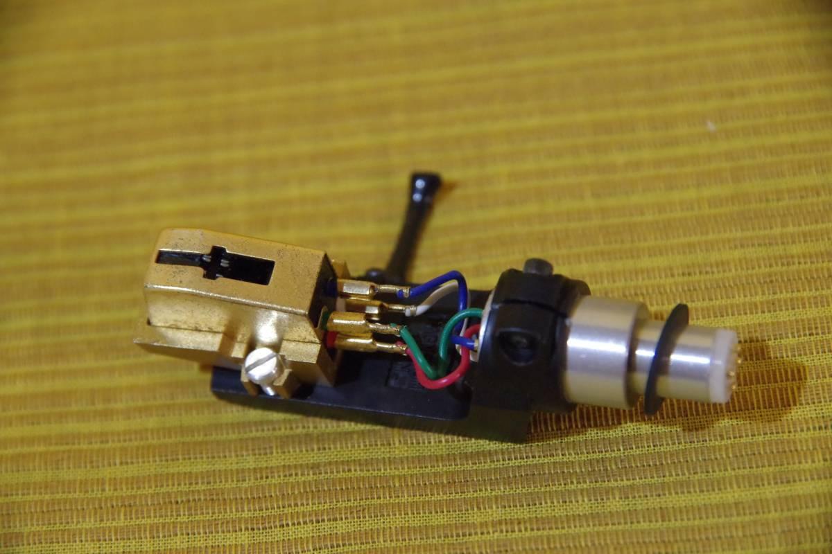 オーディオテクニカ AT-MS11 シェル DENONのDP-2500から取り外したジャンクパーツ ゆうパックで同梱・お取置きも_画像4