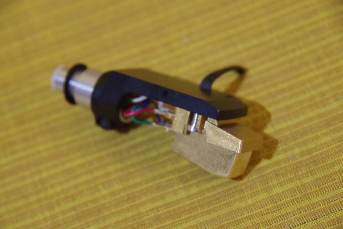 オーディオテクニカ AT-MS11 シェル DENONのDP-2500から取り外したジャンクパーツ ゆうパックで同梱・お取置きも_画像6