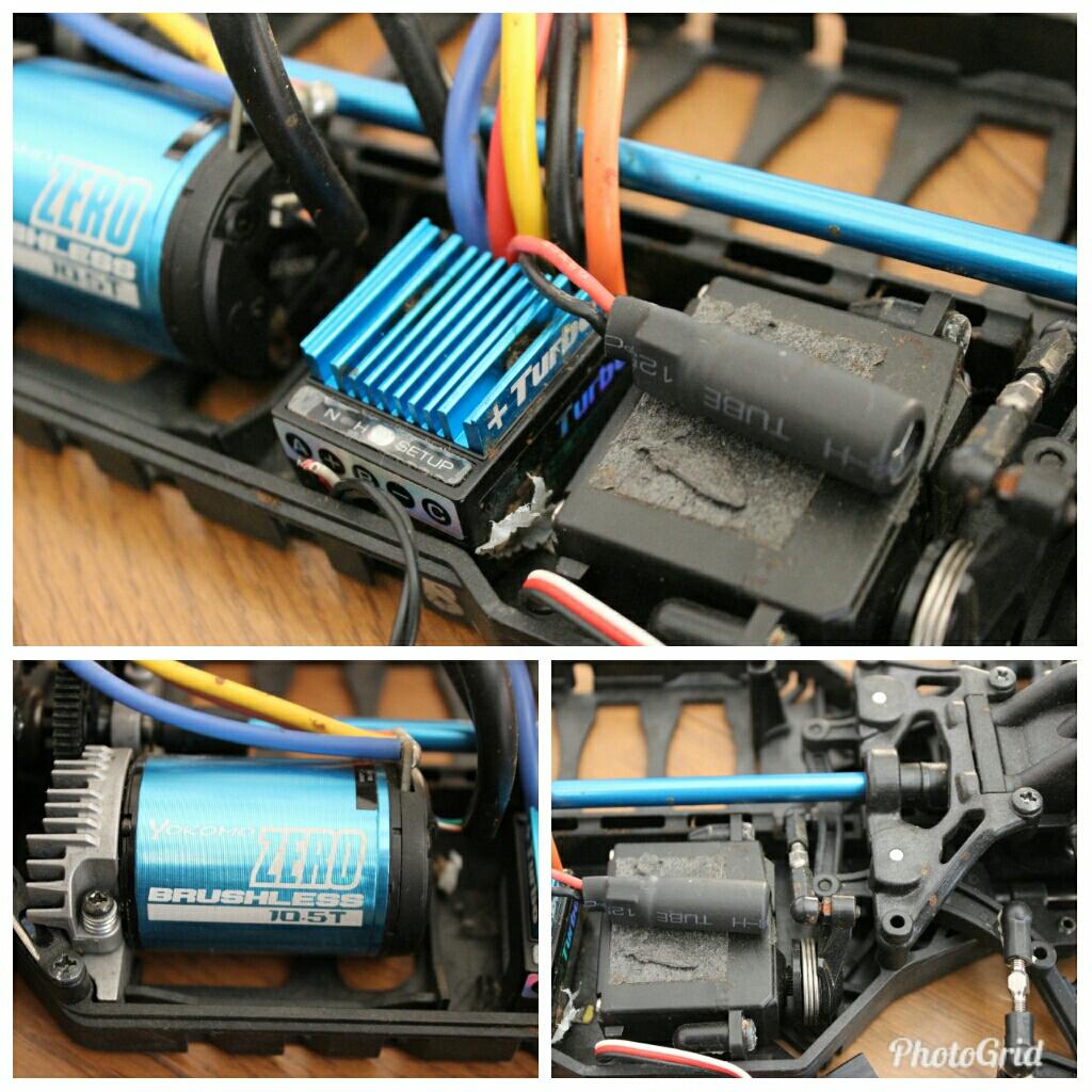 タミヤ TAMIYA 田宮 バッテリー ヨコモブラシレスモーター ラジコン セット売り まとめ売り ジャンク_画像8