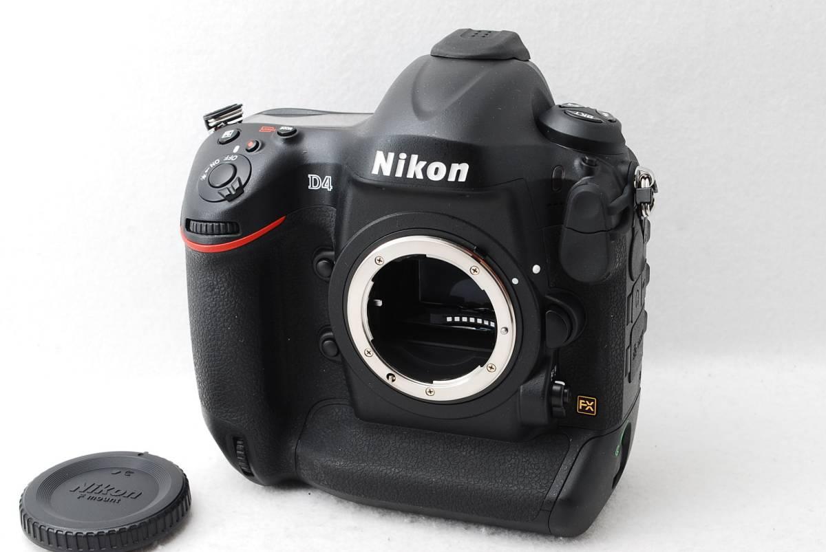 新品級★ Nikon ニコン D4 IV ボディシャッター回数421 ★1923