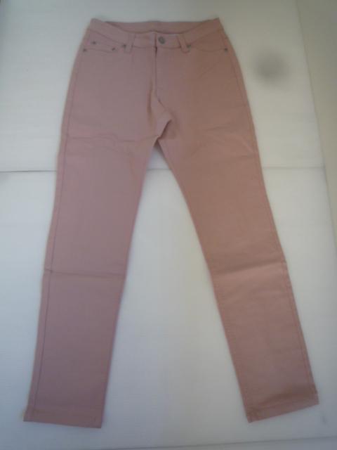 【お買い得!】 ◆ カラーパンツ ◆ ピンク 無地 レディース 67-93_画像1