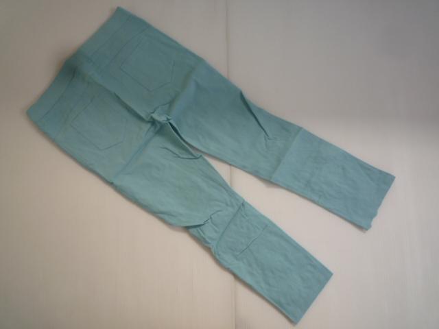 【お得!!】◆カレイ/Karei◆ デザインパンツ 水色系 装飾 7分丈 レディース_画像2