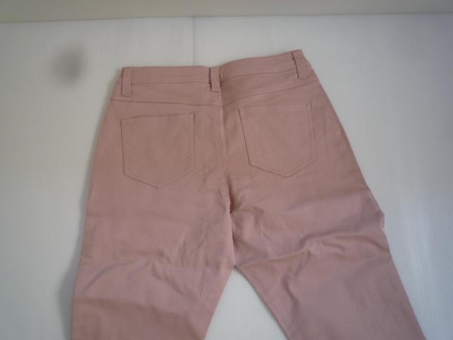 【お買い得!】 ◆ カラーパンツ ◆ ピンク 無地 レディース 67-93_画像3