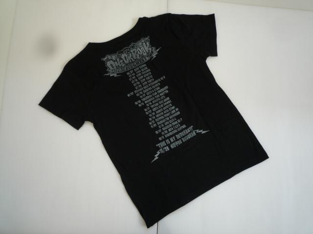 【値下げ!】 ★ ワンオクロック / ONEOKROCK ★ 半袖Tシャツ S 黒 アーティスト_画像2