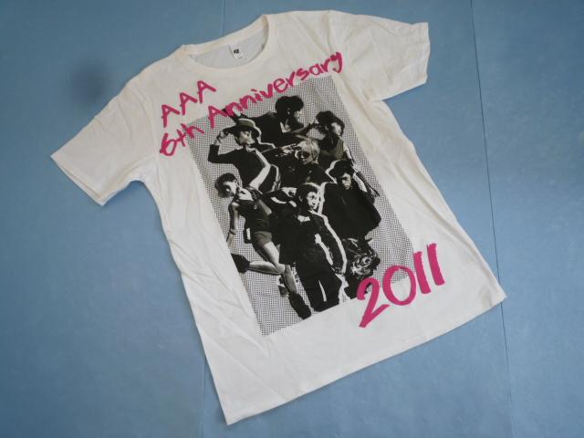 【お得!!】★トリプルエー/AAA★ 半袖Tシャツ S 白 アーティスト_画像1