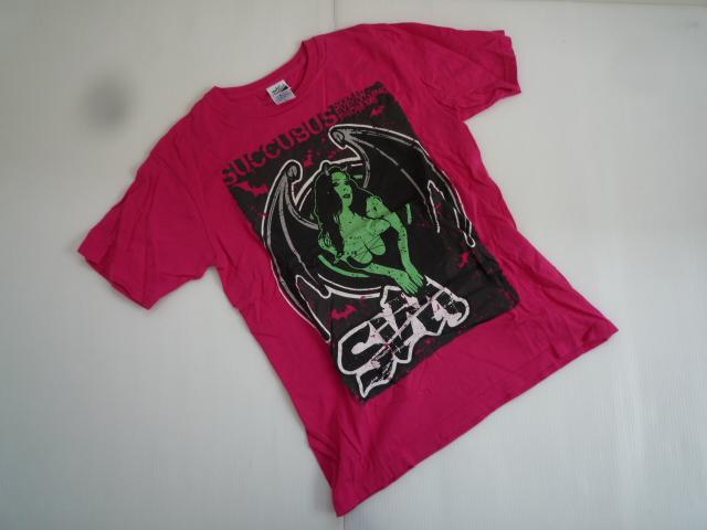 【お買い得!】 ★ シム / SiM ★ 半袖Tシャツ ピンク アーティスト Sサイズ