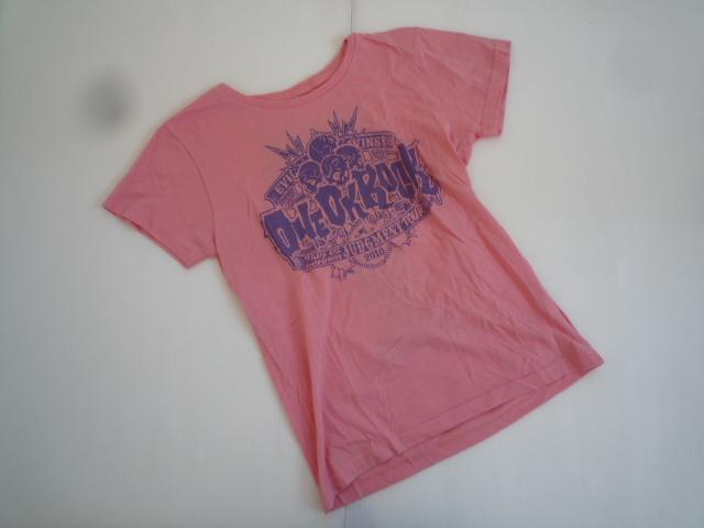 【お得!!】★ワンオクロック/ONEOKROCK★ 半袖Tシャツ S ピンク系 アーティスト_画像1