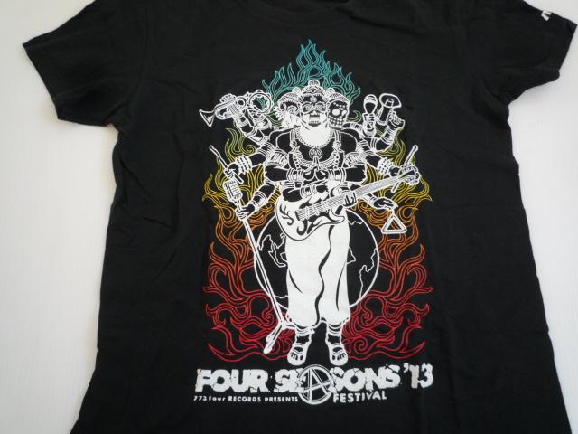 【お買い得!】 ★ FOVR SEASONS FESTIVAL'13 ★ 半袖Tシャツ 黒 ライブ S_画像3