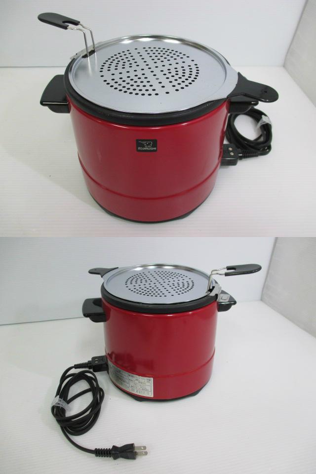 【簡単卓上調理!】 ★ ZOJIRUSHI / 象印 ★ 電気フライヤー CTA-1000型 赤_画像3