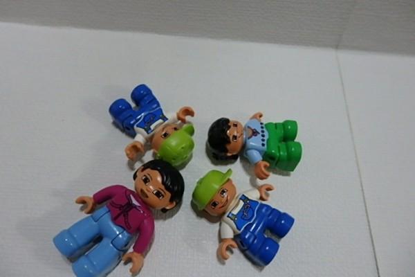 #262 レゴデュプロ ブロック 人形 子供・男の子・女の子などまとめて #パーツ フィグ_画像3