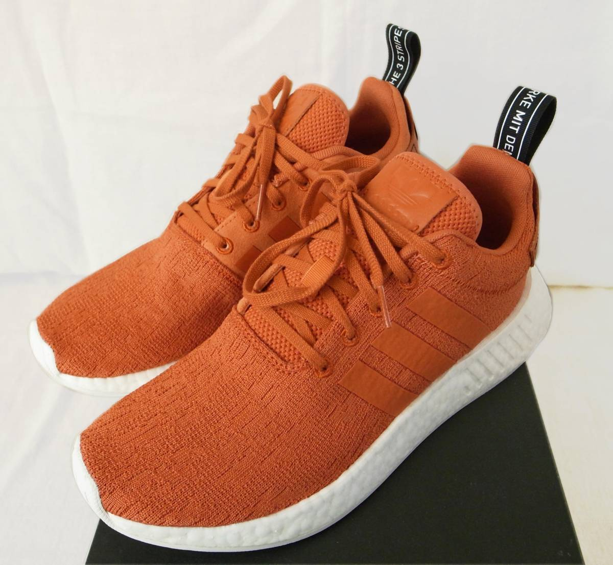 check out e1be1 d8895 beautiful goods adidas NMD R2 BY9915 orange US8.5 26.5./ R1 ...