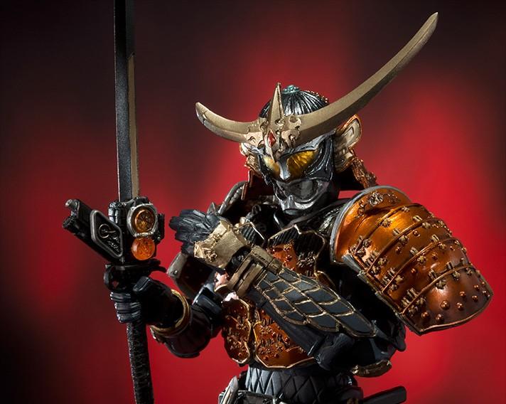 (●V●)S.I.C. 仮面ライダー鎧武 オレンジアームズ_ロックシードは武器に装着可能