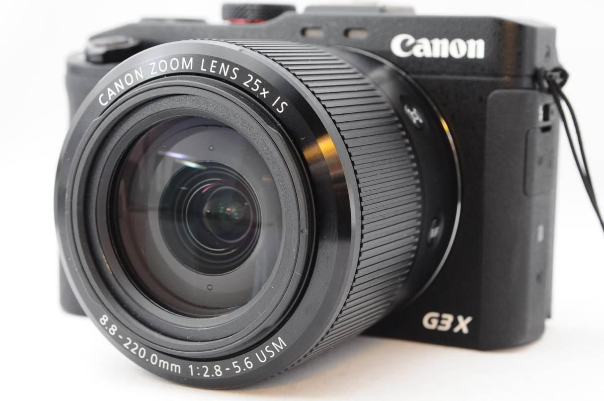 ★超美品★ 2018年11月まで保証あり★ Canon キヤノン PowerShot G3X 付属品多数 A288