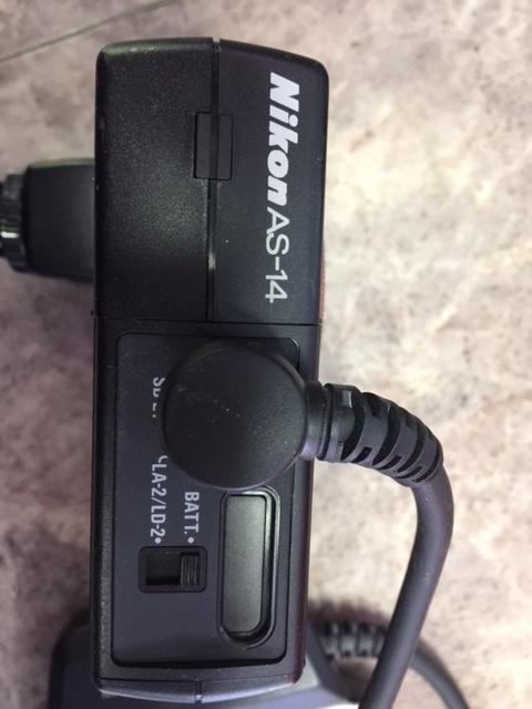 (M1955)ジャンク  Nikon ニコン 一眼レフ F5 AS-14+SB-21_画像9