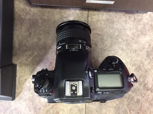 (M1955)ジャンク  Nikon ニコン 一眼レフ F5 AS-14+SB-21_画像3