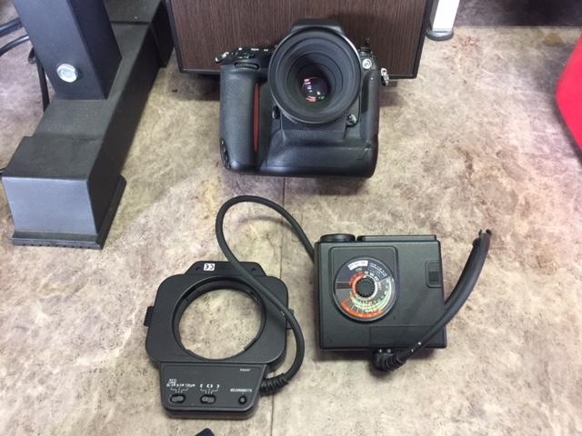 (M1955)ジャンク  Nikon ニコン 一眼レフ F5 AS-14+SB-21