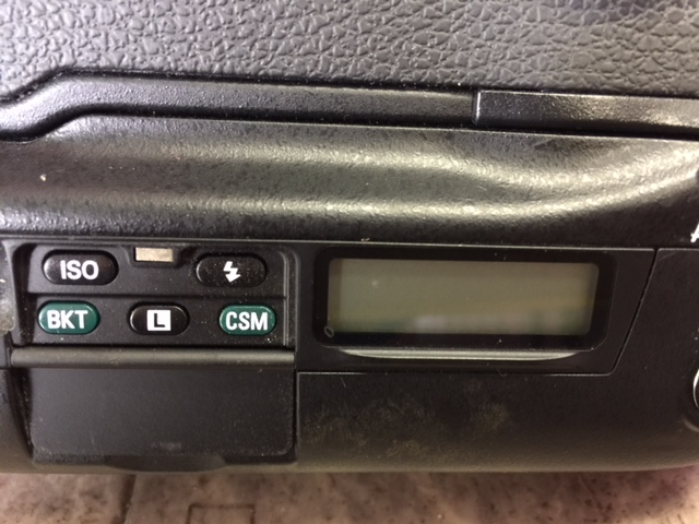 (M1955)ジャンク  Nikon ニコン 一眼レフ F5 AS-14+SB-21_画像7