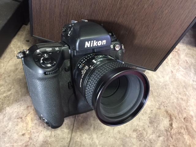 (M1955)ジャンク  Nikon ニコン 一眼レフ F5 AS-14+SB-21_画像2