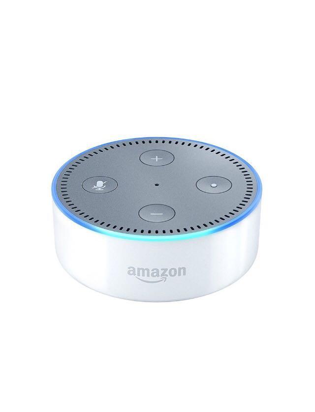 ★新品 未開封 未使用★Amazon echo dot (new モデル) アマゾン エコードット 日本語 ホワイト AIスピーカー 登録解除済み