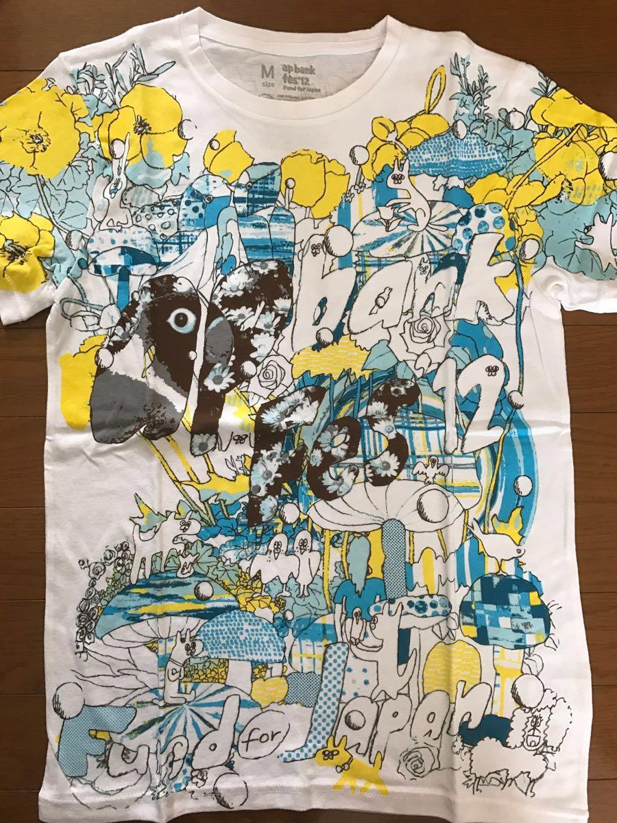 【美品】ap bank fes'12 Fund for Japan オフィシャルTシャツ Mサイズ