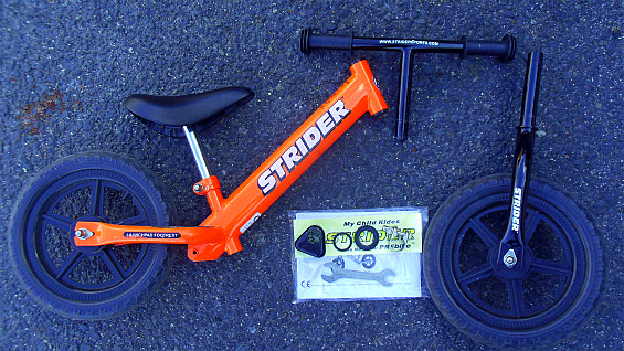 ストライダーSTRIDER ペダル無し自転車 キッズバランスバイク 中古美品_画像8