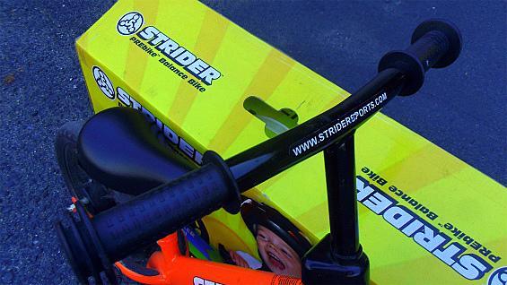 ストライダーSTRIDER ペダル無し自転車 キッズバランスバイク 中古美品_画像7