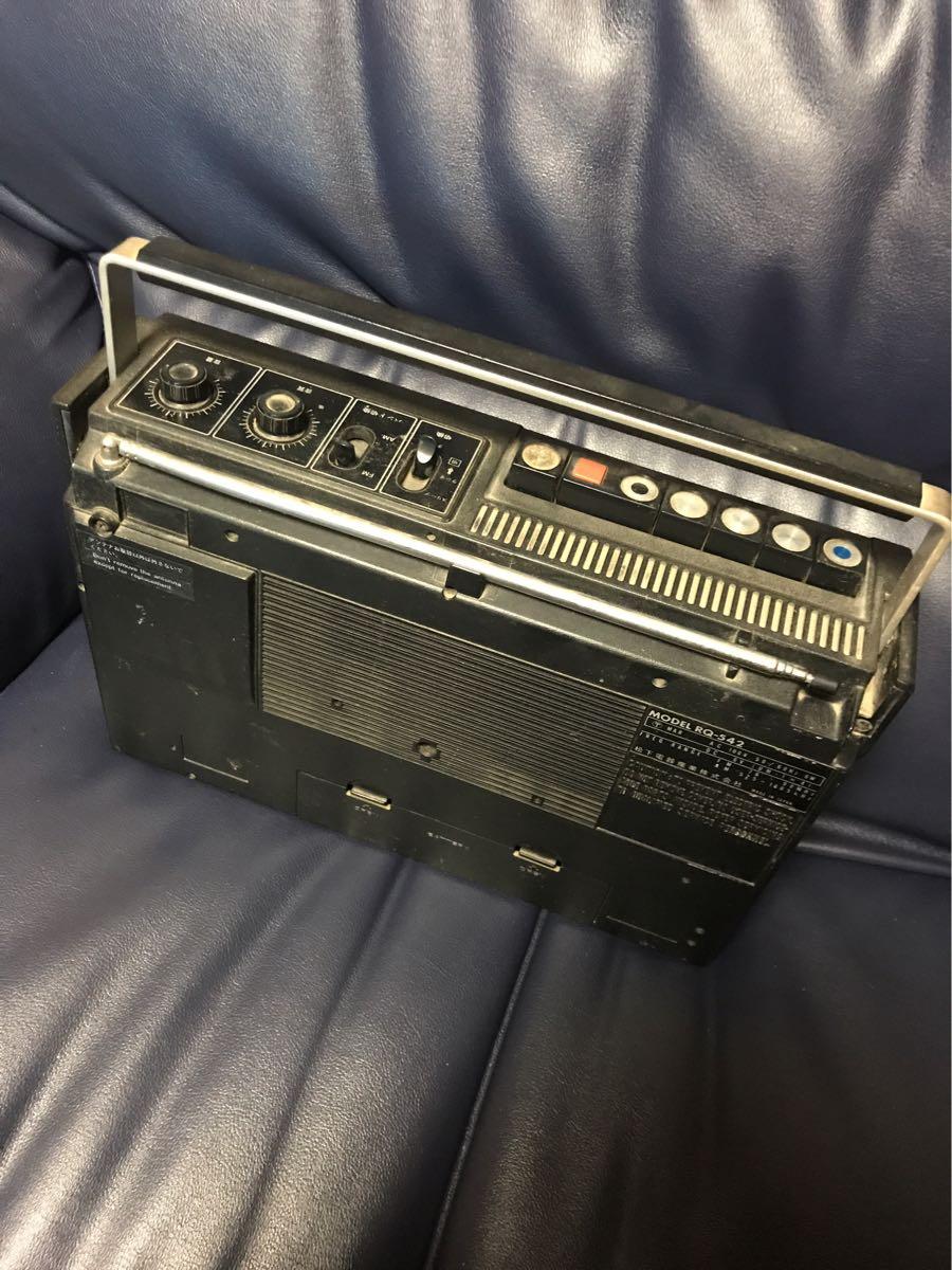 昭和レトロ ナショナル(RQ-542)(R-123)TOSHIBA(IC-700)ラジオ 3点まとめ_画像3