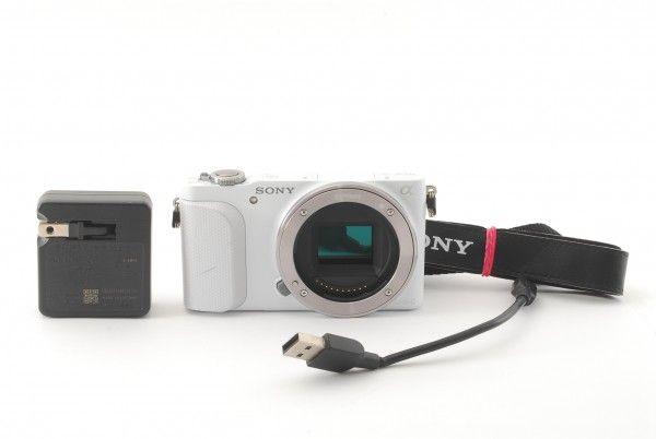 #2734 超美品★ソニー Sony NEX-3N ホワイト ボディ S数912枚