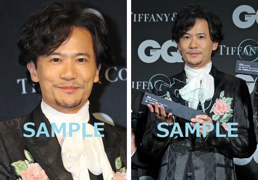 稲垣吾郎『GQ MEN OF THE YEAR 2017』生写真