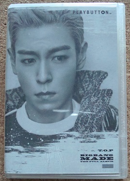 K) TOP from BIGBANG MADE PLAYBUTTON プレイボタン トップ たぷ チェ・スンヒョン